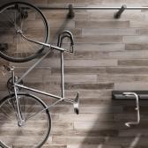 100x700 플로렌스 우드타일 포세린 화이트 - 현관 욕실 베란다 발코니 셀프 타일 인테리어