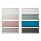 100x300 베몬 시리즈 컬러 벽타일 도기질 - 현관 욕실 베란다 발코니 셀프 타일 인테리어