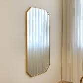 600*1200 골드 팔각 중형 거울 - 현관 욕실 안방 전신거울 셀프 인테리어