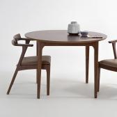 고호 2인 원형 테이블 (소) SET