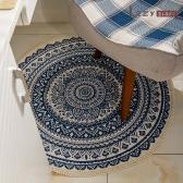 레이지다이어리 코지 러그 원형 거실 침실 카페트 사계절 패브릭