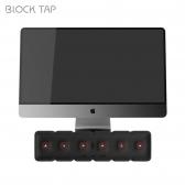 블럭탭 6구 멀티탭 정리함 USB 3포트 멀티콘센트 MRPB-1000N 모니터 받침대