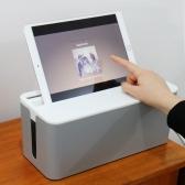 [파워존] 케이블박스 멀티탭 정리함 전선 정리 수납함