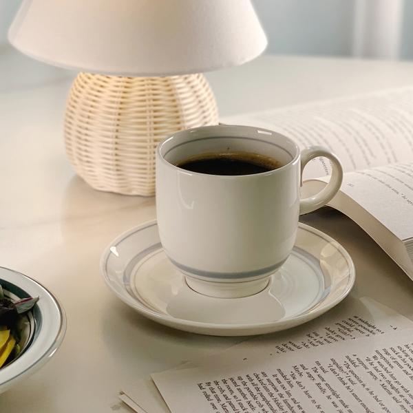 비스트로 경양식 플레이트 홈카페 커피잔세트 큰컵(8cm)