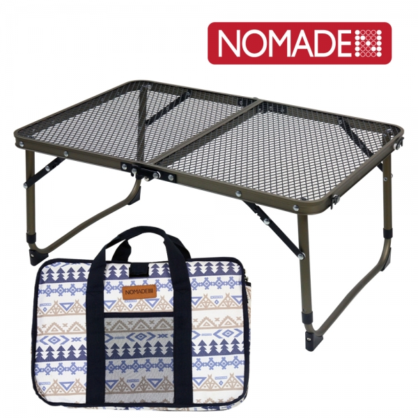 아이언메쉬 캠핑 테이블 슬림형