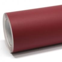 영림 단색 인테리어필름 싱크대 가구 리폼 다크 레드 PS021