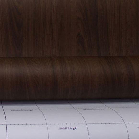 영림 무늬목 인테리어필름 식탁 가구 리폼 인테리어필름 블랙티크 PW812