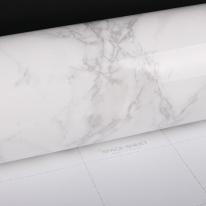 삼협테프 유광 대리석 시트지 테이블 리폼 마블 화이트 MB-001