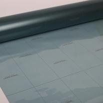 국산 유리창 창문 점착 컬러 안개시트지 스모키블루 CW-511