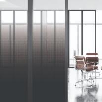 포인트 창문시트지 유리필름 블랙 드립 그라데이션 FD002