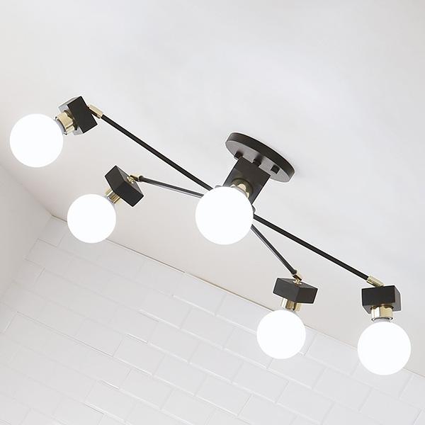 [바이빔][LED] 미숑5등 무드등 직부등(라운드형-2color)