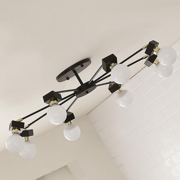 [바이빔][LED] 미숑8등 무드등 직부등(라운드형-2color)