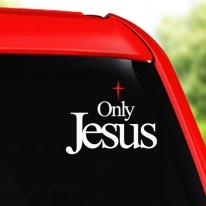 [차량스티커]Olny Jesus(2종)