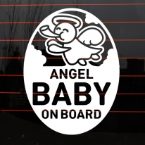 엠블렘 엔젤 baby on board
