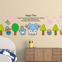 Kids D.I.Y Sticker_엘리 나무들과 친구들 03