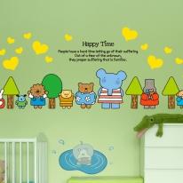 Kids D.I.Y Sticker_엘리 나무들과 친구들 02