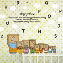 Kids D.I.Y Sticker_엘리 ABCDEFG