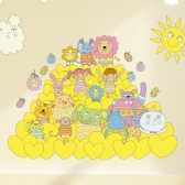 Kids D.I.Y Sticker_누꼬뺑 하트의 성