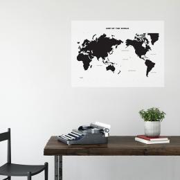 [세계지도데코시트지] wn-016