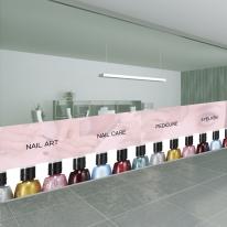 nang172-핑크 네일아트-뮤럴실사 시트지