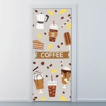 nces107-스위트 커피-현관문시트지