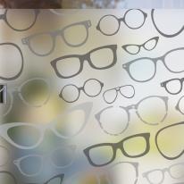 dgcn288-글라시스 패턴-무점착 반투명 창문 시트지