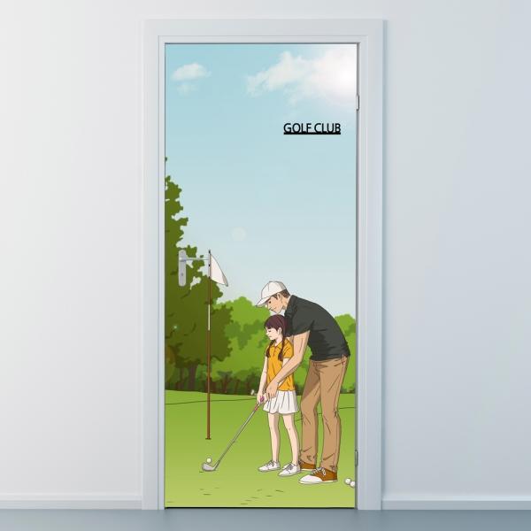 nces276-골프클럽1-골프교실-현관문시트지