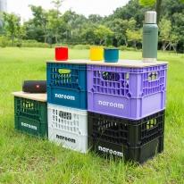 [나룸] FUR-001 감성 캠핑용품 밀크박스&우드상판 set