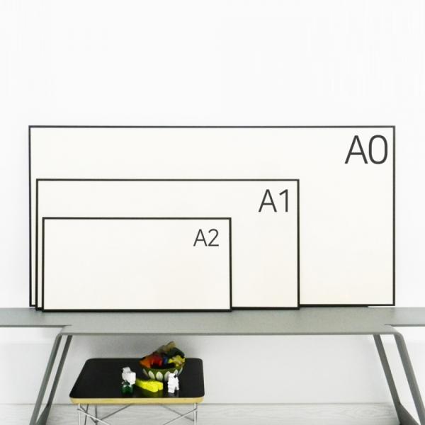프레임 액자 FA000 ALW A2 와이드 가로세로 사이즈 알루미늄 모던 대형 거실 슬림 액자