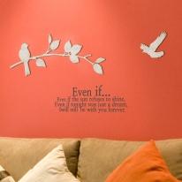[우드스티커] 너와나무 (반제품) - 입체우드 월데코  포인트 집꾸미기 벽장식