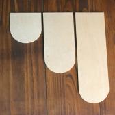 [우드스티커]우드어닝 (반제품) - 입체우드 월데코  포인트 우드스카시 벽장식