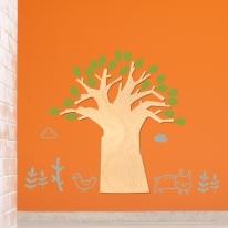 [우드스티커] 고목나무 (반제품)