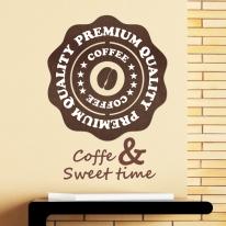 [우드스티커] 커피카페 (컬러완제품)