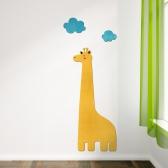 [우드스티커] 기린과구름 (컬러완제품) 아이방스티커