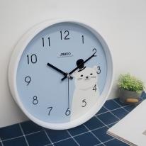 프렌즈무소음벽시계
