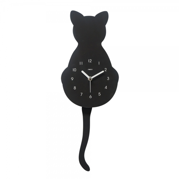 고양이무소음벽시계(추시계)